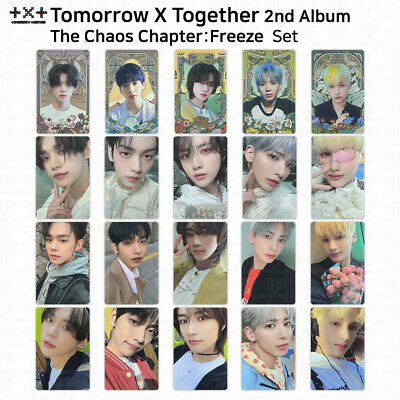 TXT 2nd Album The Chaos Chapter Freeze Official Photocard OS Photocard KPOP