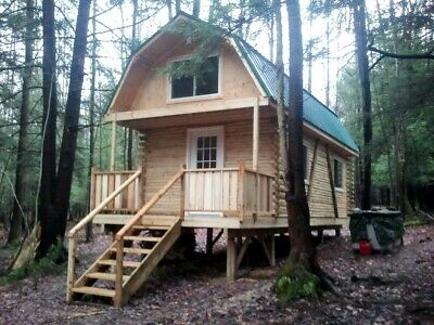5 Acre NY Land 704 SF- Log Cabin Lot 4 FINANCING NO RESERVE PA Escape the VIRUS