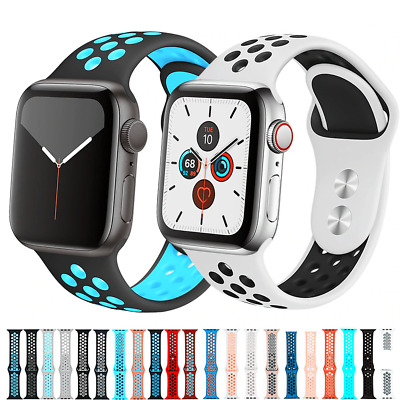 For Apple Watch Sport Band Silicone iWatch Series SE1-7 384041mm  424445mm