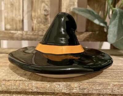 RAE DUNN Witch Hat Halloween MugCandle Topper Tier Tray Decor