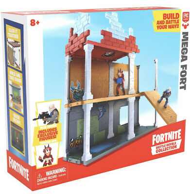 NEW Fortnite Battle Royal Collection Mega Fort Display w2 Exclusive Figures🔥