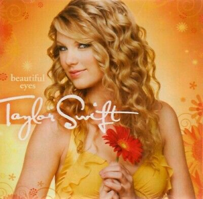 Beautiful Eyes by Taylor Swift CD 2 Discs Big Machine Records No Cover Art
