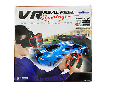 VR Entertainment 49400 Car Racing Gaming System with Bluetooth Steering Wheel
