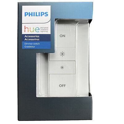 New Philips Hue Wireless Dimmer Switch with Remote  • Ships Today