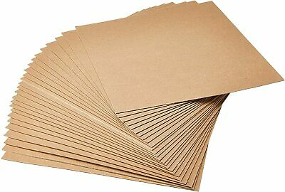100 Pack Cardboard Sheets Inserts Pads Chipboard Packing Mailing Crafts 9x12