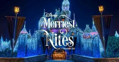 Nov 11 Disneyland California Merriest Nites Private Event Event is sold out
