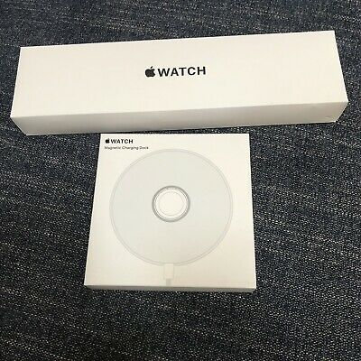Apple Watch SE 40mm Space Gray Aluminium Blue Sport Band-2 Bands - Magnetic Dock