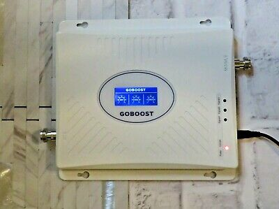 Goboost Tri-Band 850 1700 1900 CDMA Booster cell phone Signal Amplifier Repeater