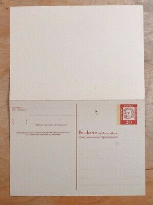 MayfairStamps Germany 20 Johann Bach Composer Music Mint Stationery Reply Card w