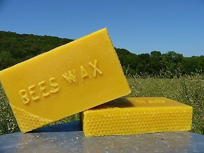 1 Pound Pure Beeswax Yellow Bees WaxSHIPPING DISCOUNT