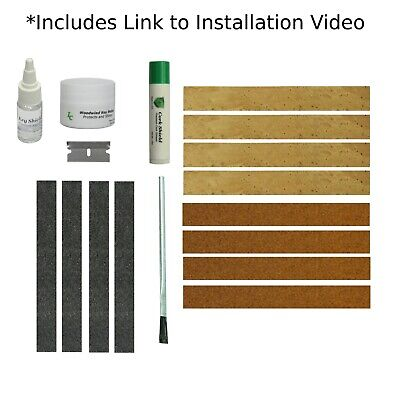 Clarinet Joint Cork Kit with Installation Instructions Synthetic Cork