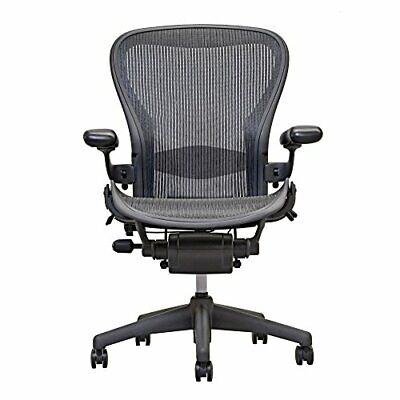 Herman Miller Aeron Chair Open Box Size B Fully Loaded   Blue Chair