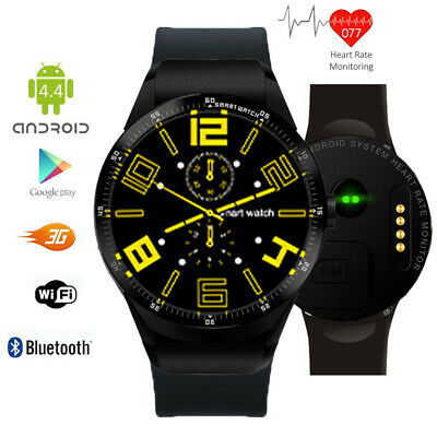 Unlocked! 3G GSM Watch & Smartphone (Android 4.4 + WiFi + Bluetooth Enable+ GPS)
