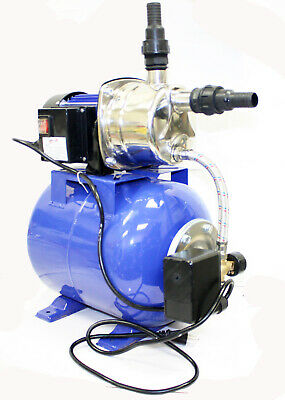 1-6 HP 110V  1200W Shallow Jet Water Well Pump with Tank Garden Sprinkler System