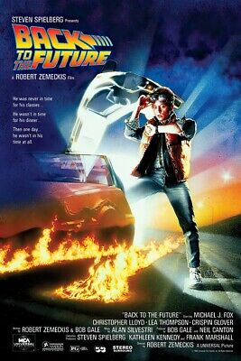BACK TO THE FUTURE - MOVIE POSTER  PRINT REGULAR STYLE SIZE 24 X 36