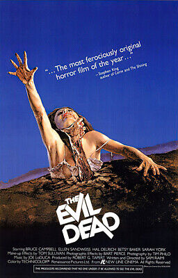 THE EVIL DEAD - MOVIE POSTER  PRINT REGULAR STYLE SIZE 27 X 40