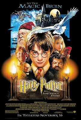 HARRY POTTER AND THE SORCERERS STONE - MOVIE POSTER REGULAR 27 X 40