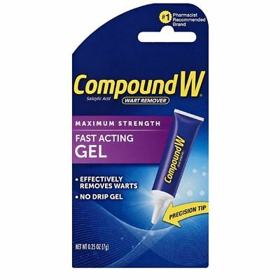 Compound W Maximum Strength Wart Remover Fast Acting Gel 0-25 OZ