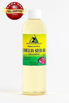 CAMELLIA  CAMELIA SEED OIL ORGANIC CARRIER COLD PRESSED 100 PURE 4 OZ