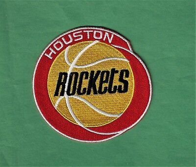 New Houston Rockets 3 34 X 4  Iron on Patch Free Shipping