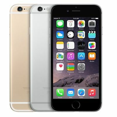 Apple iPhone 6 16GB Factory GSM Unlocked Space Gray Silver Gold