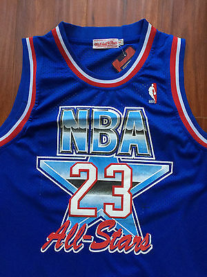 NBA 1992 All Star Michael Jordan Swingman Classic SewnStitched Jersey NWT