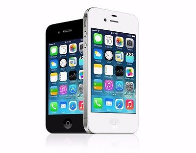 Apple iPhone 4S - 8 16 32 64GB GSM Factory Unlocked Smartphone Black  White