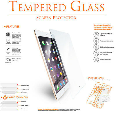 Premium Tempered Glass Clear Screen Protector for Apple iPad Pro 9-7 Retina