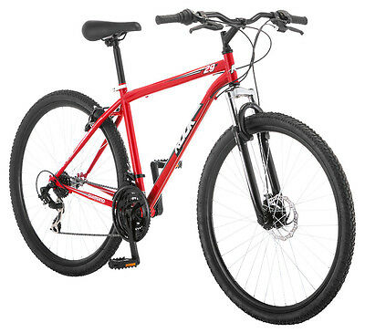 29 in 29er Pacific Mens Rook Mountain Bike Red