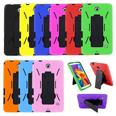 Hybrid Armor Hard Case Cover Skin Stand For Samsung Galaxy Tab E 2 3 4 7-0 Lite
