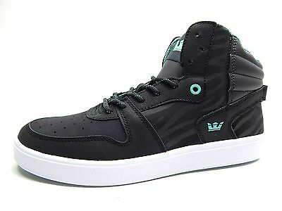 SUPRA SPHINX CHARCOAL BLACK WHITE MEN SHOES SIZE 10 TO 12