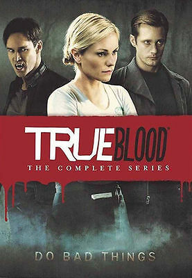 True Blood The Complete Series Seasons 1234567 DVD Disc Box Set NEW Sealed