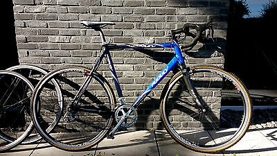 Ridley Crossbow cyclocross racebike - size 56 - Campagnolo Veloce - Extra wheels