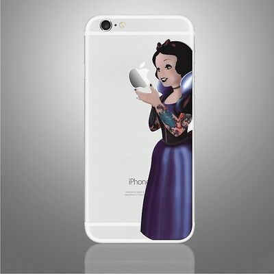 Snow White Princess Disney Goth iphone Sticker Viny Decal for iPhone 6 6s7