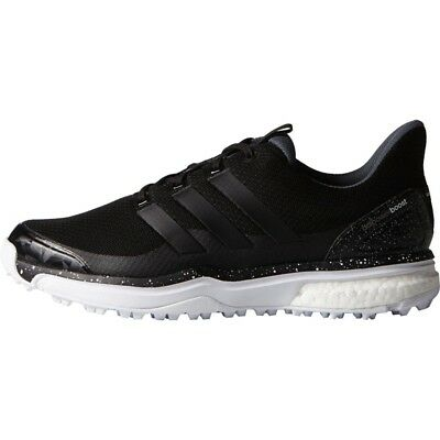NEW MENS ADIDAS ADIPOWER SPORT BOOST 2 GOLF SHOES BLACK F33216 - PICK A SIZE