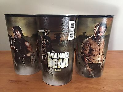 Brand NEW Walking Dead 16oz Plastic Cups
