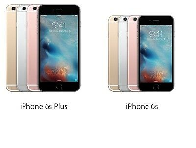 New Apple iPhone 6S 6S Plus - 16g 64gb Factory Unlocked Smartphone All Colors
