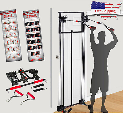 NEW Body By Jake Tower 200 Full Gym Fitness - Workout DVD - Free Straight Bar