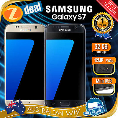 NEW SEALED BOX SAMSUNG GALAXY S7 SM-G930 4G LTE FACTORY UNLOCKED PHONE OZ WTY