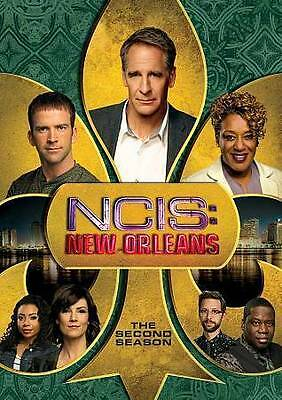 NCIS New Orleans Season 2 Two DVD 2016 6-Disc Set FREE SHIPPING
