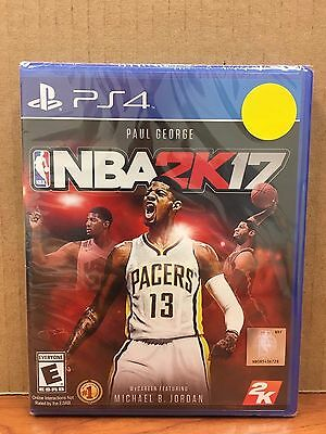 NBA 2K17 Playstation 4  PS4 Brand New - Sealed