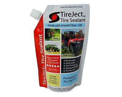 TireJect Off-Road Tire Sealant 10oz Refill Pouch