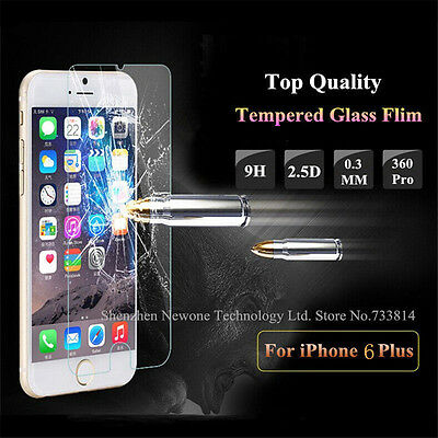 New Ultra Thin Premium Tempered Glass Screen Protector for iPhone 6 Plus6S Plus