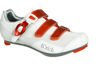 Fizik R5 Donna Womens Road Bike Shoe ORANGE and WHITE - size 40 - Cycling 185