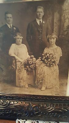 HAUNTED PARANORMAL PHOTOGRAPH LATE 1800s VICTORIAN ERA THE DEAD DO SPEAK