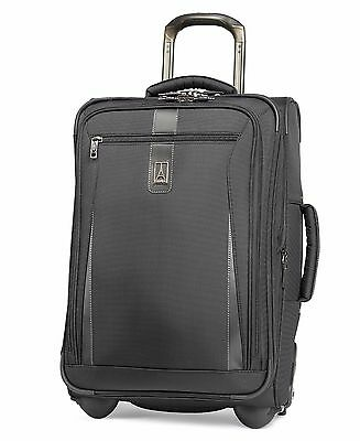 Travelpro Marquis 20 in- Carry-On Expandable Rollaboard -Luggage Black-MSRP 320