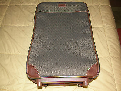 Hartmann Wings Diamond Jacquard 20 Upright Rolling Suitcase Bag Luggage Travel