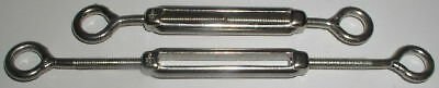 2 Brand New 316 Stainless Steel Turnbuckles