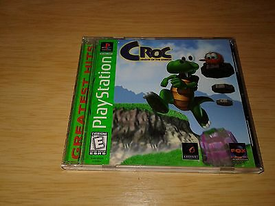 Playstation One - Croc - Legend of the Gobbos - PS1 - Greatest Hits