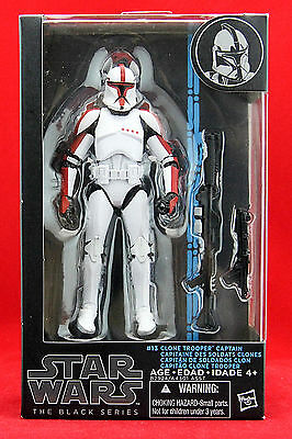 Clone Trooper Captain Star Wars the Black Series 6 Action Figure Hasbro Toy New